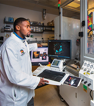 Innovation is all about the network needed to bring an idea to reality, said Andrew Hargadon, director of the Child Family Institute for Innovation and Entrepreneurship and a UC Davis professor of technology management, at the Livermore Valley Lab-Corpskick-off.(Photo by Julie Russell, LLNL)