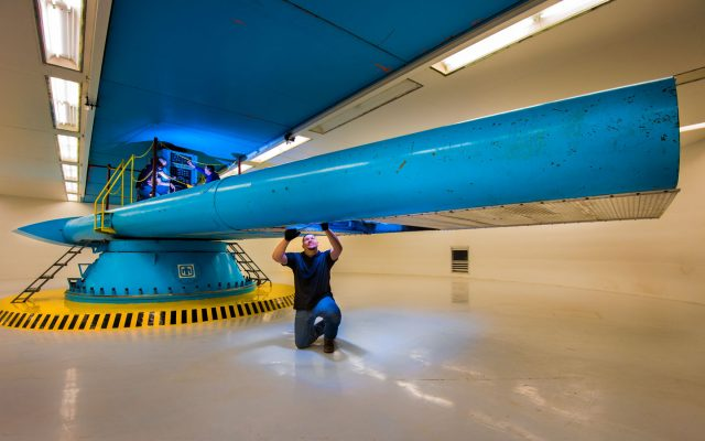 The Sandia Superfuge/Centrifuge Complex aims to provide the most realistic flight simulation environments possible.