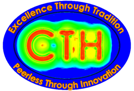 CTH Logo, Excellence Through Tradition, Peerless Through Innovation