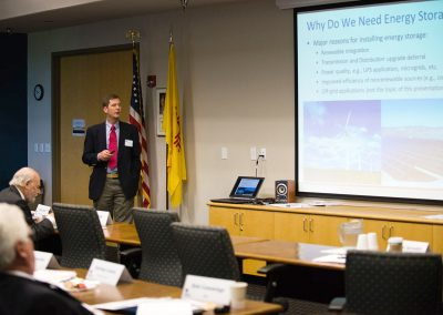 "Dr. Ray Byrne, DMTS, Sandia National Laboratories, presents ""Energy Storage 101 – The Basics."""